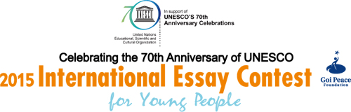 goi peace foundation international essay contest 2014 Goi peace foundation international essay contest 2012 the goi peace foundation and unesco | share categories business idea regions global eligibilities.